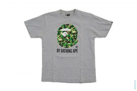 Bendy ABC Camo Classic Apehead Logo Tee by A Bathing Ape x Kaws
