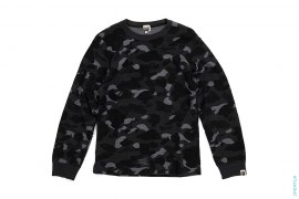 Color Camo Thermal Long Sleeve Tee by A Bathing Ape