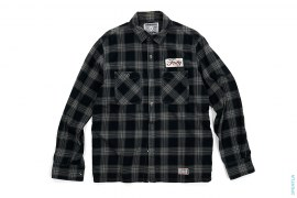 Flannel Button-Up Shirt by Neighborhood x OriginalFake