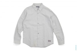 X Monogram Side Pocket Button-Up Shirt by Neighborhood x OriginalFake