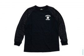 Play Dirty Splatter Raglan Long Sleeve Tee by Undefeated