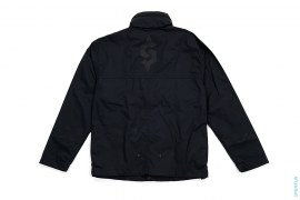 Stand Collar Windbreaker Jacket by Staple