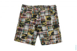 1st Camo Patchwork Shorts by A Bathing Ape