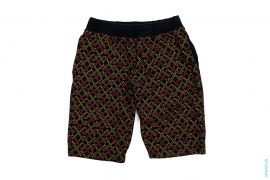 All X Print Sweatshorts by OriginalFake