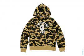 Ultimate 1st Camo College Logo Pullover Hoodie by A Bathing Ape