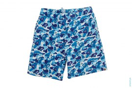 ABC Bendy Camo Sweatshorts by A Bathing Ape x Kaws