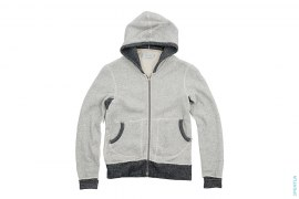 French Terry Zip Up Hoodie by Wings+Horns