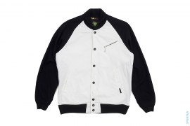 Raglan Two Tone Bomber Jacket by OriginalFake