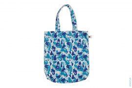 ABC Bendy Camo Canvas Tote by A Bathing Ape x Kaws