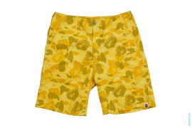 Fire Camo Shorts by A Bathing Ape