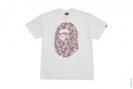 Sta Eyes Companion Big Apehead Tee by A Bathing Ape x Kaws