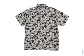 OG Star Psyche Camo Short Sleeve Button-Up Shirt by A Bathing Ape
