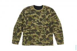 Bendy 1st Camo Reversible Long Sleeve Tee by A Bathing Ape x Kaws
