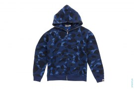 Color Camo Full Zip Hoodie by A Bathing Ape