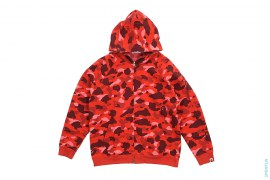 Ultimate Color Camo Full Zip Hoodie by A Bathing Ape