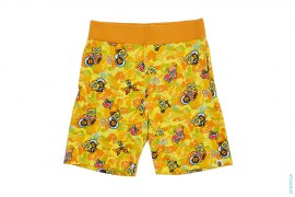 ABC SpongeBob Camo Sweatshorts by SpongeBob x A Bathing Ape