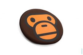 Baby Milo Crying Tempur Seat Cushion by A Bathing Ape