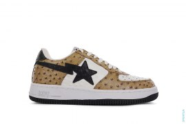 Ostrich Bapesta Low-Top Sneakers by A Bathing Ape