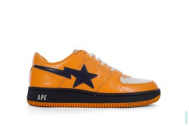 OG Patent Bapesta Low-Top Sneakers by A Bathing Ape
