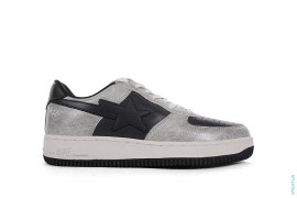 Unkle Snakeskin Bapesta Low-Top Sneakers by Futura x A Bathing Ape