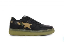 Glow In The Dark Bapesta Low-Top Sneakers by A Bathing Ape