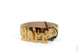 ABC Metallic Foil Belt by A Bathing Ape