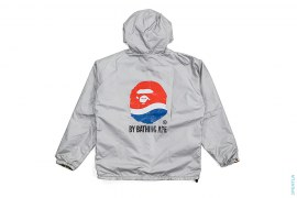 ABC Camo Apehead Classic Logo Reversible Windbreaker Jacket by A Bathing Ape x Pepsi