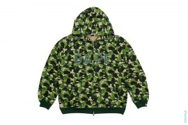 ABC Camo 2 BAPE Logo Swaro Full Zip Hoodie by A Bathing Ape