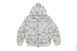 Color Camo BAPE Logo Swaro Full Zip Hoodie by A Bathing Ape
