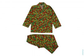 Star Psyche Camo Fleece Pajamas by A Bathing Ape