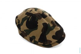 Ultimate 1st Camo Apehead Flat Hat by A Bathing Ape