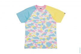 Crazy Cotton Candy Multi Camo Tee by A Bathing Ape