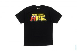 BA Spiderman Spell Out Tee by A Bathing Ape