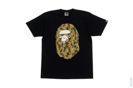 Sta Eyes Companion Camo Apehead Tee by A Bathing Ape x Kaws