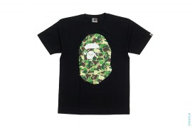 Bendy ABC Camo Big Apehead Tee by A Bathing Ape x Kaws