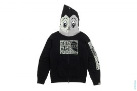 Glow In The Dark Full Zip Hoodie by A Bathing Ape x Astroboy