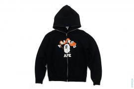 Bendy College Full Zip Hoodie by A Bathing Ape x Kaws