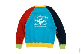 Busy Works Cowboy Crazy Crewneck Sweatshirt by A Bathing Ape