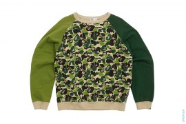 Baby Milo ABC Camo Crewneck Sweatshirt by A Bathing Ape