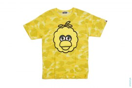 Color Camo Big Bird Tee by A Bathing Ape x Sesame Street