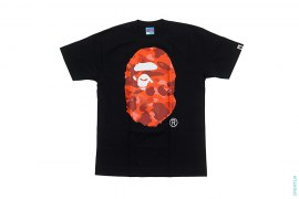 OG Color Camo Straight Through Apehead Tee by A Bathing Ape