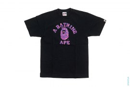 Color Camo NY College Logo Tee by A Bathing Ape