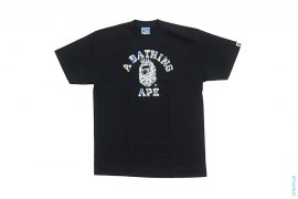 Maebashi ABC Camo NY College Logo Tee by A Bathing Ape