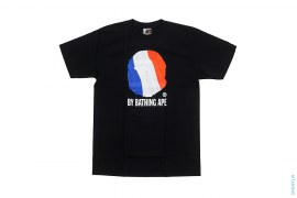 World Cup France Classic Apehead Logo Tee by A Bathing Ape