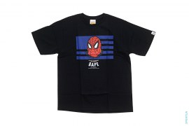 Spiderman American Flag Tee by A Bathing Ape x Marvel Comics