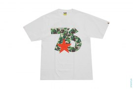 The Tribe Of Whiz ABC Camo 76 Logo Tee by A Bathing Ape