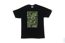 Color Camo Box Panel Tee by A Bathing Ape