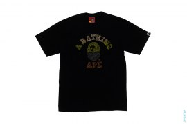 Full Swaro College Logo Tee by A Bathing Ape