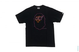 Sta Eyes Multi Swaro Apehead Tee by A Bathing Ape
