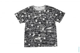 All OVer Print Tee by A Bathing Ape x Comme des Garcons